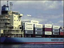 Undated handout pic of Maersk Alabama