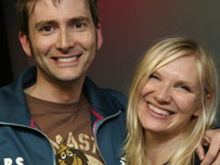 David Tennant and Jo Whiley