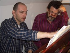 Nick van Bloss with Tobias Picker