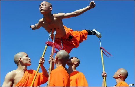 shaolin wushu warriors