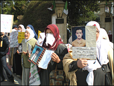 Relatives of disappeared
