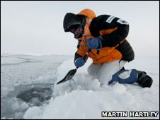 Arctic expedition (Martin Hartley)