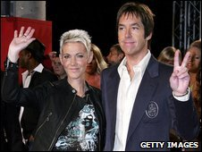 Per Gessle and Marie Fredriksson of Roxette in 2006