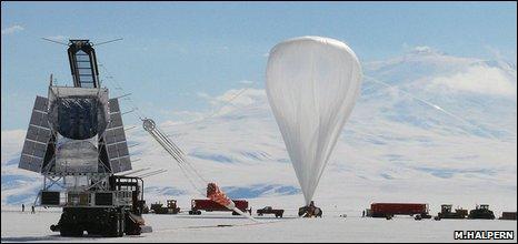 Blast launch (Mark Halpern)