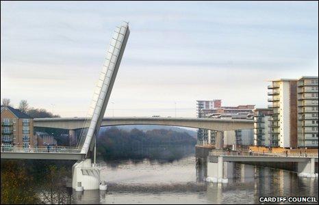 Impression of the new bridge