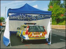 Pc Dougal's patrol car