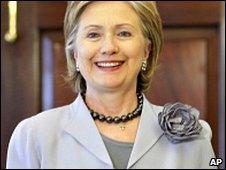 US Secretary of State Hillary Clinton in Washington DC (08/04/2009)