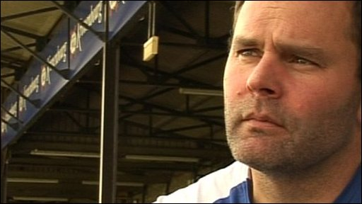 Bath head coach Steve Meehan