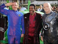 Cast of Red Dwarf