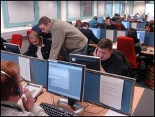 Call centre staff generic