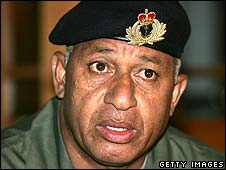Frank Bainimarama (file photo 2004)