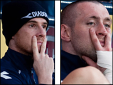 Barry Ferguson and Allan McGregor
