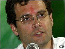 Rahul Gandhi, February 2009