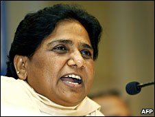 File photo of Mayawati