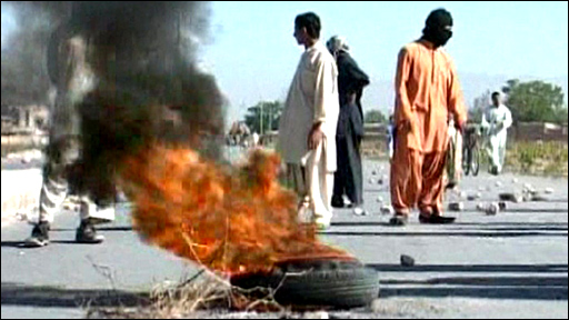 Clashes in Pakistan