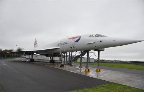 Outside of Concorde