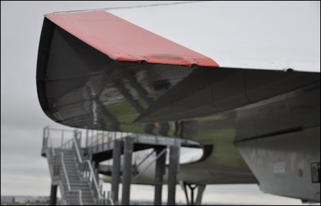 Wing of Concorde