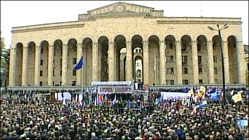 Rally  in Tbilisi