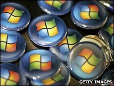 Windows badges, Getty