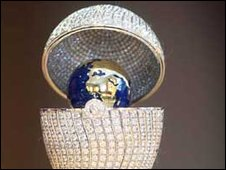 Faberge World Egg
