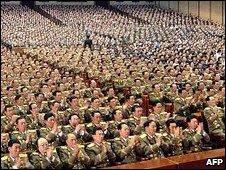 North Korean parliament meeting, 9th April