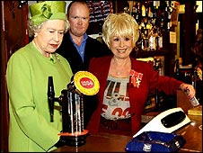 Queen at the Queen Vic