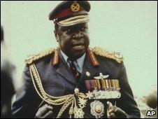 Idi Amin pictured in 1978