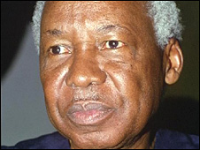 Julius Nyerere pictured in 1993