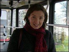 Natalia Borysewicz in 2007 in Warsaw