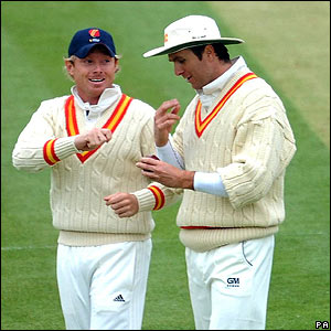 Ian Bell and Michael Vaughan