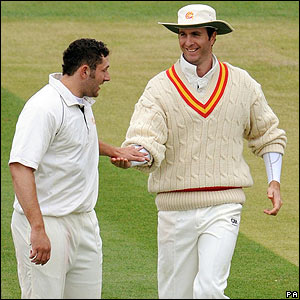 Tim Bresnan and Michael Vaughan