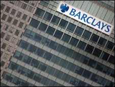 Barclays headquarters in Canary Wharf