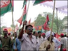 Samajwadi supporters