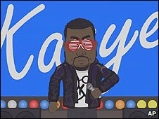 Kanye West in South Park