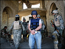 Colin Freeman in Iraq