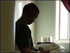 Child at young offenders institute