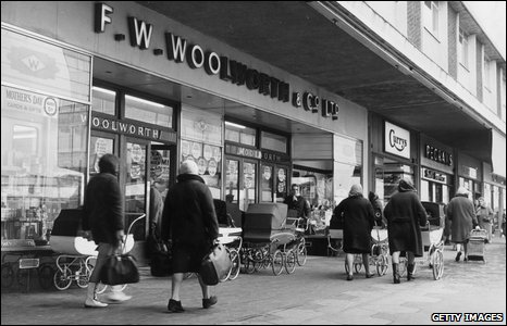 Woolworths in Lancashire in 1967