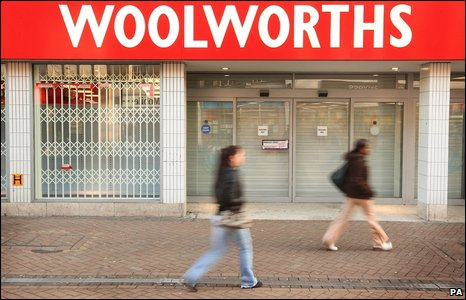 Closed Woolworths