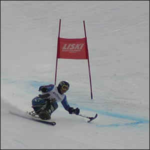 Sean Rose in action in Whistler