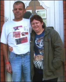 Kenny Derbyshire and Wendy White