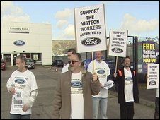 Ford protest