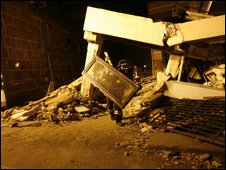 Collapsed university hall of residence in L'Aquila - photo 6 April