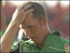 Ireland's Andrew White