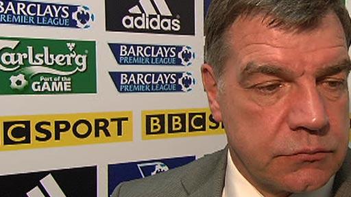 Blackburn manager Sam Allardyce