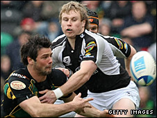 Ben Foden and Ray Ofisa