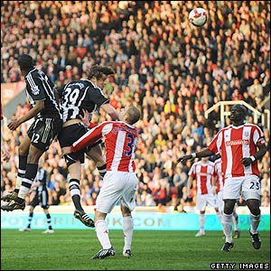 Carroll scores for Newcastle