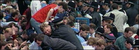 Hillsborough disaster, 15 April 1989