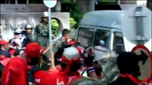Thai violence
