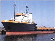 Undated file photo of tugboat Buccaneer