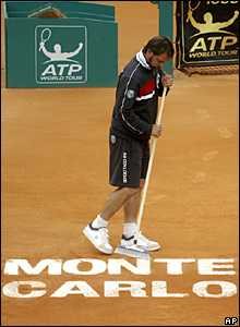 The Monte Carlo court is swept